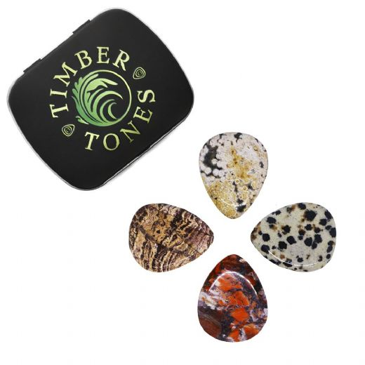 Prism Tones Mixed Tin of 4 Guitar Picks